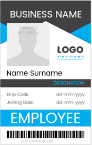 100 Vertical Blank Id Card Templates Microsoft Word Id
