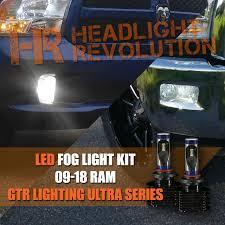 2016 Dodge Ram Fog Light Bulb 2009 2018 Dodge Ram Led Fog Light Upgrade Gtr Lighting Cx