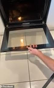 remove oven glass door