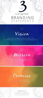 best ideas about vision and mission statement these are the most important branding statements to define when creating your brand your vision