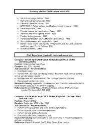 Additional Resume Skills Other Qualifications Cv Under Fontanacountryinn Com