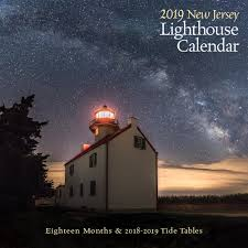Tide Chart Lbi New Jersey New Jersey Lighthouse Calendar 2019 Down The Shore