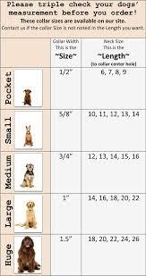 Puppy Collar Size Chart Custom Leather Dog Collar Sizing Ruff Puppies Collars