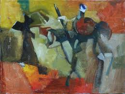 mbwilsonart the paintings of michael b wilson and thoughts on don quixote at play