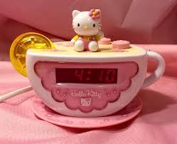 Hello Kitty Digital Am Fm Clock Radio With Night Light Hello Kitty Digital Am Fm Clock Radio With Night Light Kt2055 Euc