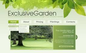 Small Picture Garden Design Joomla Template 29670