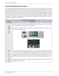 Ge Remote Access Local And Remote Access Ports Ge Industrial Solutions Pulsar