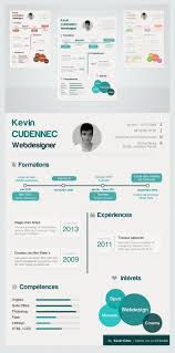 Free Creative Infographic Style Free Resume Psd For