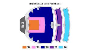 First Interstate Center For The Arts Seating Chart Ticketingbox Shen Yun 2020 Spokane Shen Yun Tickets