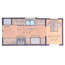 Small Picture Corridor or Galley Kitchen Layout This is basically what I have