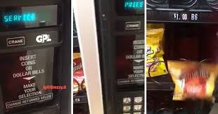 How To Hack Snack Vending Machines Gorgeous Guy Gives Detailed Instructions On How To Hack A Vending Machine