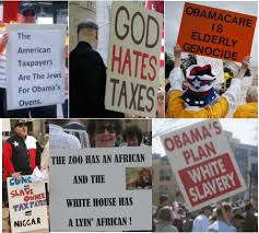 Image result for tea party racism