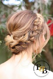 Wedding Hair Style Up Do wedding hair with braid messy bridal updo bridesmaids hair 5747 by wearticles.com