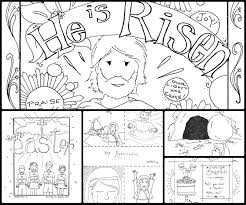 Free Bible Story Coloring Pages Beautiful Photos Religious Easter