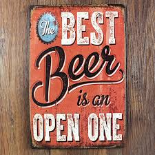 attractive beer wall art interior designing cooler vintage poster patent craft pub cap bottle can box coaster