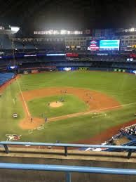 Rogers Centre Section 522r Row 3 Seat 7 Toronto Blue