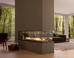 modern ventless gas fireplaces with glass walls gas fireplace ventless