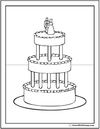 Small Picture 20 Cake Coloring Pages Customize PDF Printables