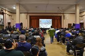 more than people packed an auditorium at liberation diploma  more than 300 people packed an auditorium at liberation diploma plus high school in coney island