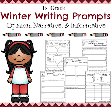 first grade writing prompts for winter planning playtime