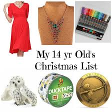 This is my 14 Year Old Daughter s Christmas List!