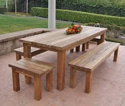 reclaimed recycled teak patio furniture rustic patio san in rustic outdoor table ideas