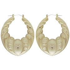 truly vine oval door knocker earrings 2 1 8 x 2 1 2