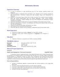 Informatica Etl Developer Sample Resume Informatica Etl Developer Sample Resume Awesome Informatica Resume 1