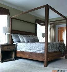 california king bed frame platform wood diy with headboard
