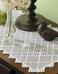 Free Crochet Table Runner Patterns Enchanting Easy Crochet Table Runner Free To Print Crochet Table Runner