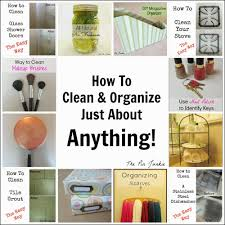 how to clean organize anything