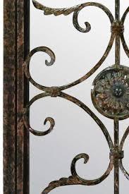 mirror 130cm. classic rustic arched garden mirror 130cm x 70cm a