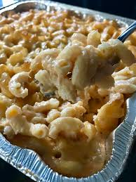 A green veggie or salad would go well.no bread because it is a. Smoked Mac And Cheese Cuts And Crumbles