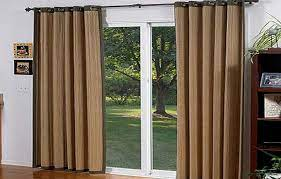 excelent sliding patio door curtain