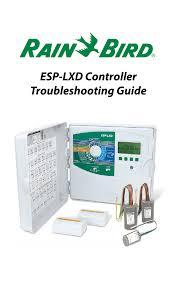 Rain Bird Esp Lx Programming Chart Esp Lxd Troubleshooting Pocket Guide Manualzz Com