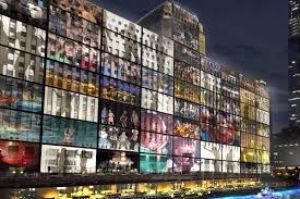 building facade lighting. Conceptual Image Via 2014 \u0027Lighting Framework Plan\u0027 Presentation Mayor\u0027s Office/Choose Chicago Building Facade Lighting N