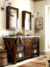 contemporary pottery barn bathroom vanity ideas rustic chic luxury