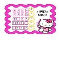Hello Kitty Reward Chart Free Hello Kitty Reward Stamp Chart By Jessie E Teachers Pay