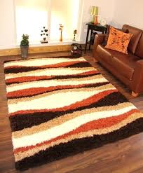 awesome large area rugs soft warm terracotta burnt orange cream brown intended for rug popular