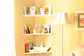 floating corner shelves wood rustic white high gloss do it yourself new handyman furniture exciting b