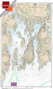 Noaa Chart 11416 Noaa Chart 13221 Narragansett Bay 21 00 X 34 45 Small Format Waterproof