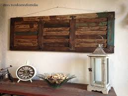 home design superb large iron wall decor 7 rustic wood art metal pertaining to recent