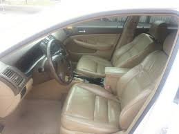 picture of 2003 honda accord ex w leather interior