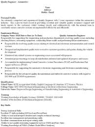 Resume Format For Quality Engineer How To Use An Essay That Has Already Been Submitted Resume