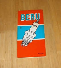 Details About Vintage 1969 Beru Bosch Spark Plug Application Chart Alfa Wolseley 14 18 10 Mm