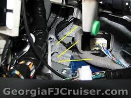 georgia fj cruiser accessories and upgrades factory tow hitch trailer wiring harness diagram at Wiring Harness For Trailer Hitch