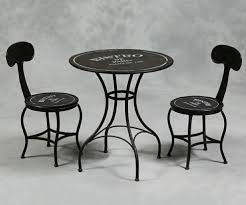 peaceful design bistro table and chairs french metal bistro table chairs