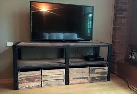 wooden crate tv stand wooden pallet stand with storage crates wooden crate tv stand diy