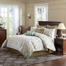 Buy Paisley Bedding Sets Comforters from Bed Bath & Beyond & Madison Park Signature Pierce 8-Piece Queen Comforter Set in Ivory Adamdwight.com