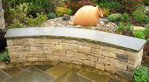 05 purbeck wall with york stone coping